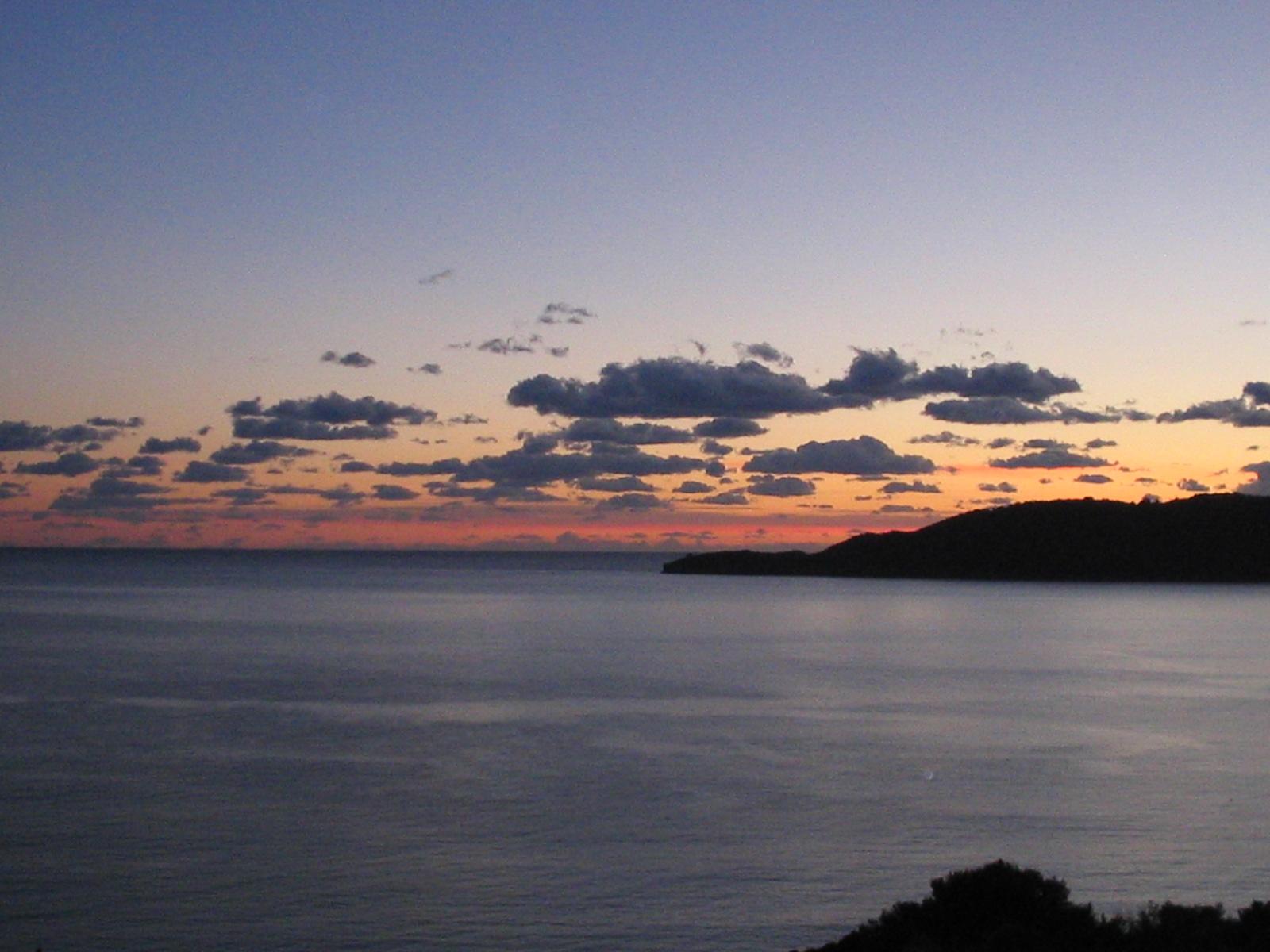 Montenegro Coastal Sunset