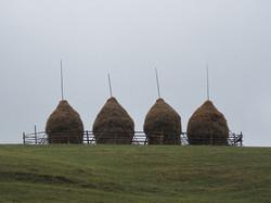 Four Haystacks Bucovina