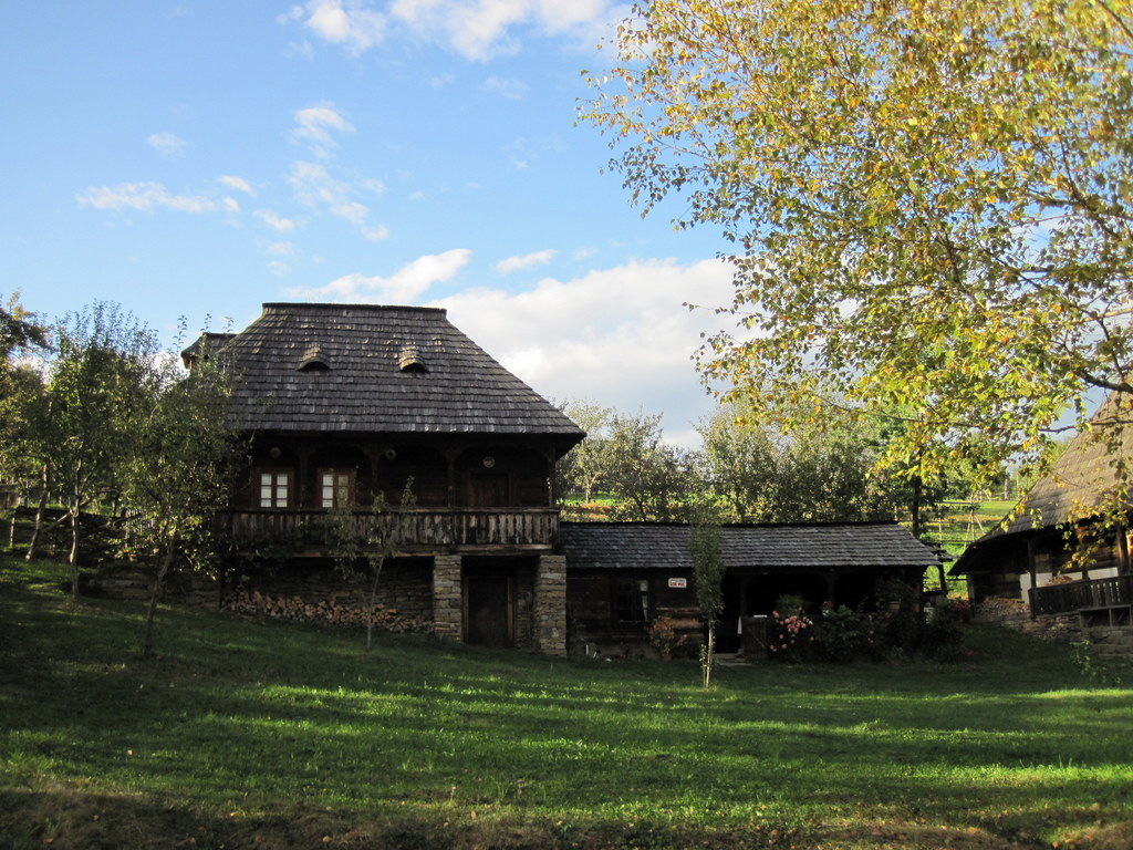 Traditional House, Botiza