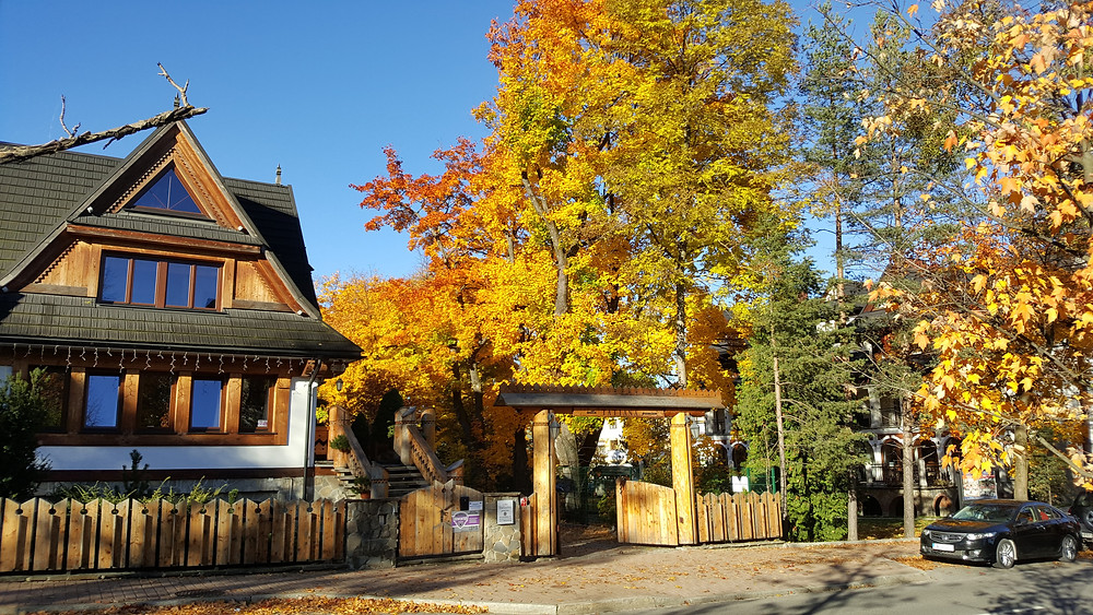 Autumn Colours in Zakopane