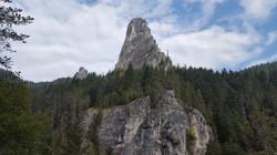 Rock Pinnacle Bicaz Gorge