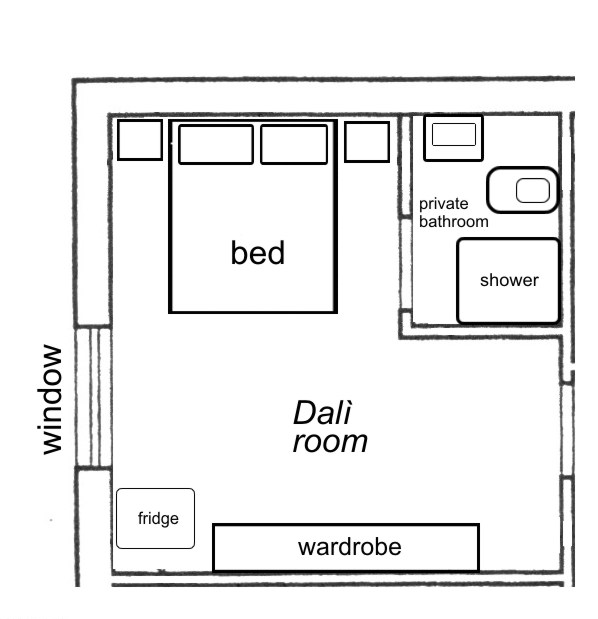 Dali floorplan