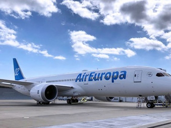 Madrid with Air Europa