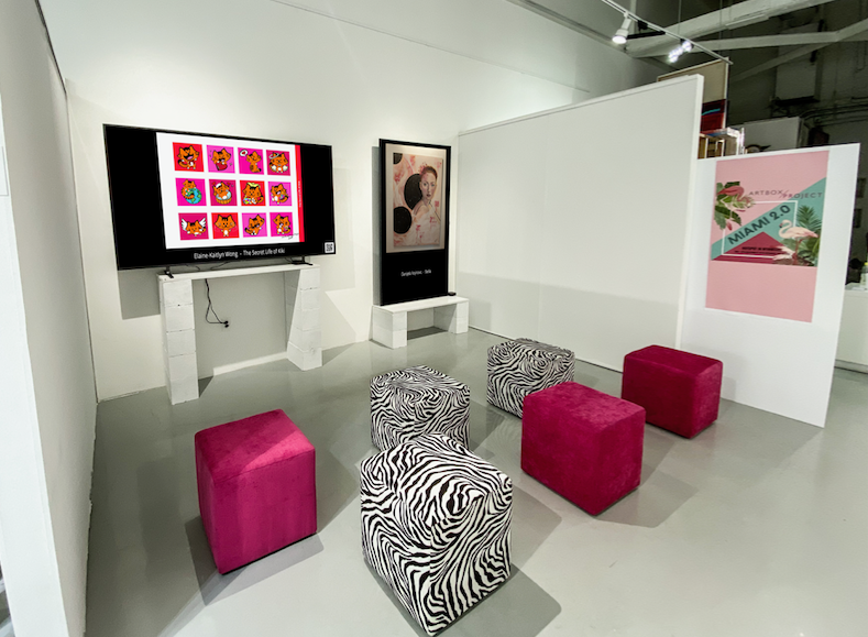 Artbox Miami Digital Art on Screen