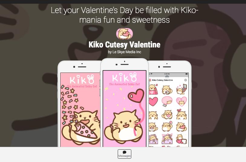 Kiko Cutesy Valentine