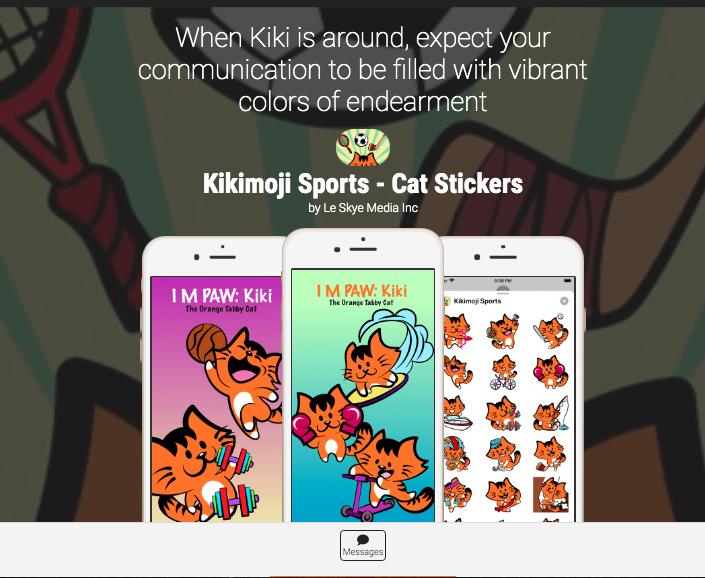 KikiMoji Sports
