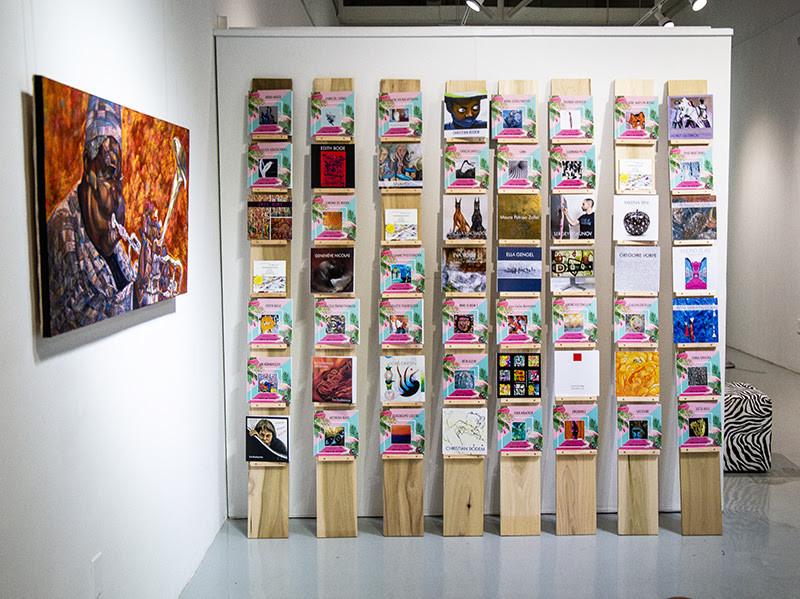 Art Basel Miami printed Art Catalog with