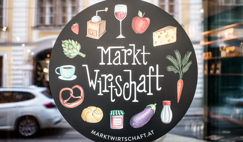 Die Marktwirtschaft - eine indoor Markthalle mit integriertem Haubenrestaurant