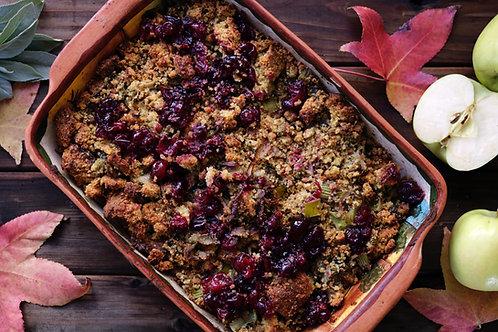 Vegan Seasonal Fruit Crumble