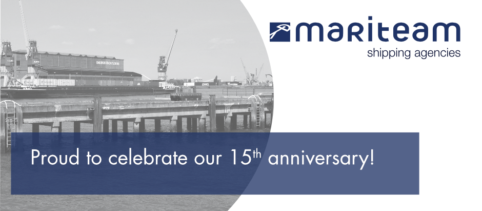 MariTeam Shipping Agencies - 15 Years!