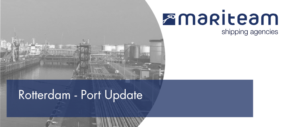 Rotterdam Port Update - Test closure of storm surge barriers on 20 September 2020
