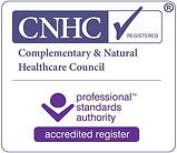 Registered with Complementary & Natural Healhcare Council
