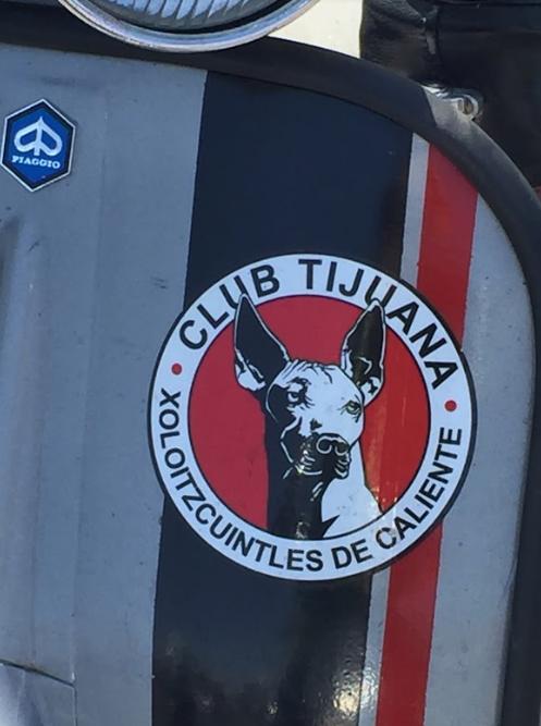 Vespa Club Tijuana logo