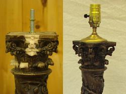 Lamp Base Restoration