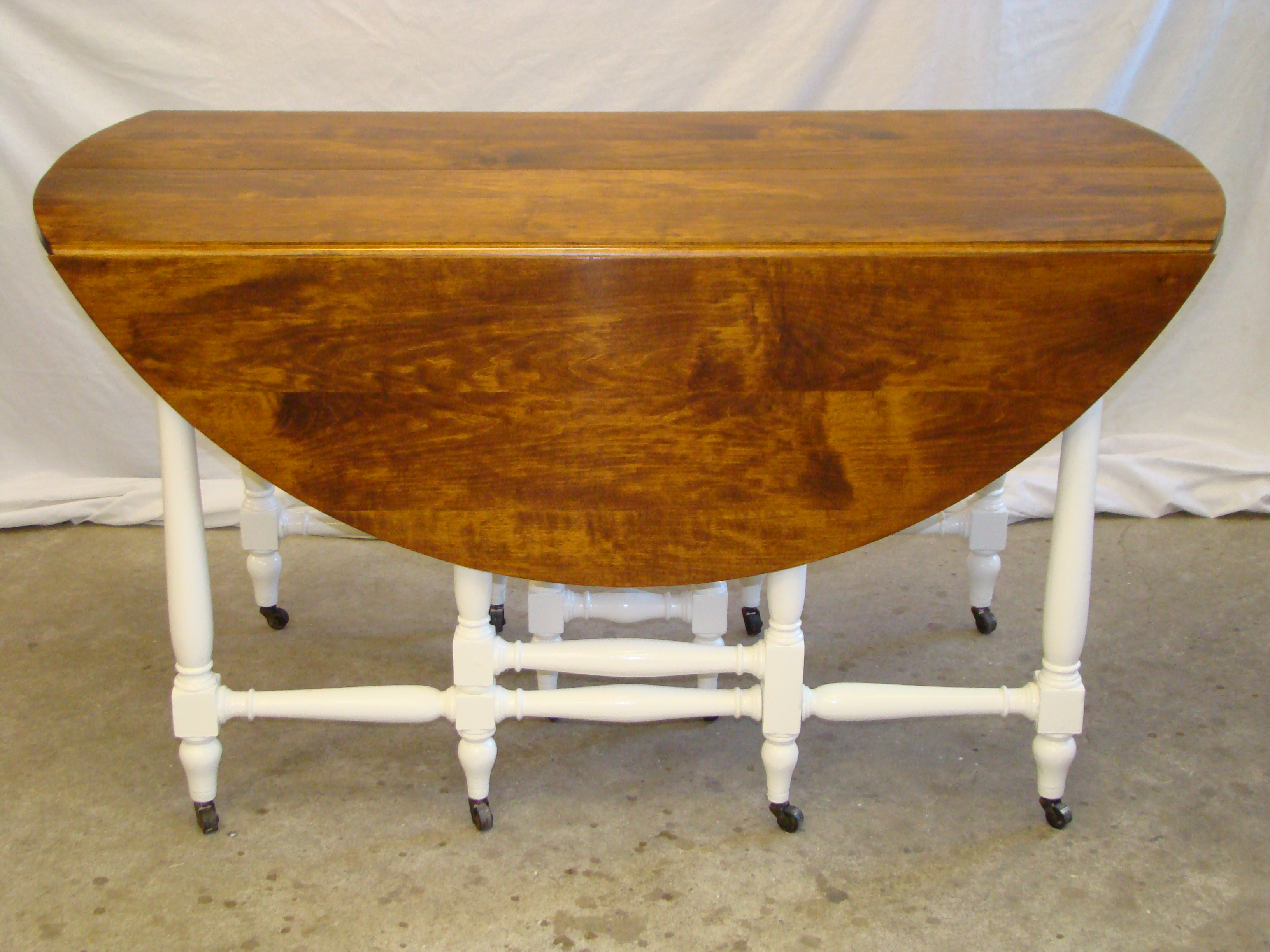 After...Drop Leaf Table