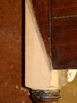 Sideboard Leg Repair