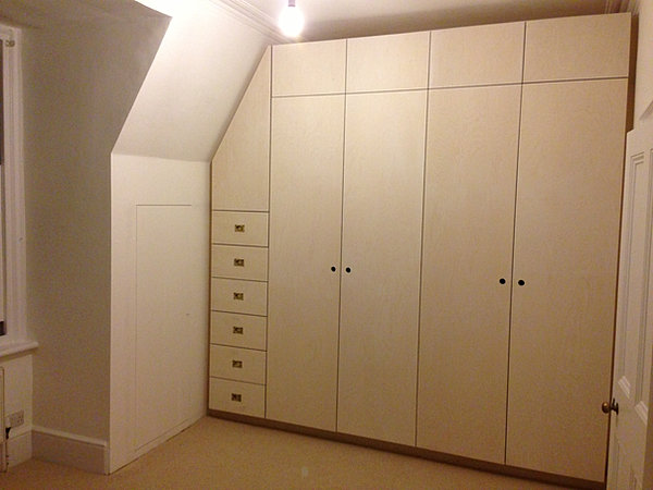 woodworks | Birch Plywood Wardrobe