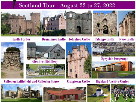 2022 Clan Forbes Tour