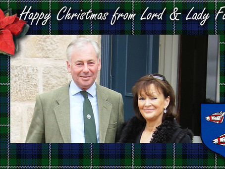 Lord Forbes 2020 Christmas Message