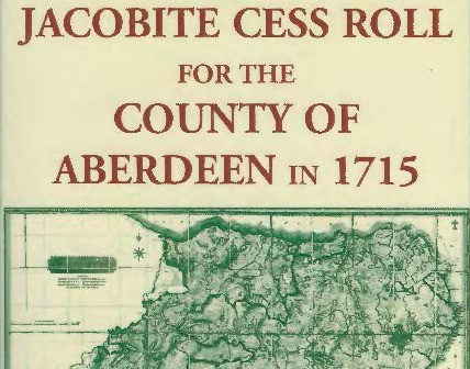 Jacobite Cess Roll of 1715