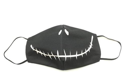 Μάσκα προστασίας προσώπου ενηλίκων Μαυρη χαμόγελο