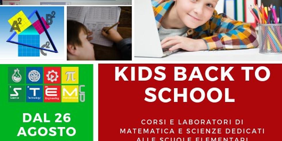 KIDS BACK TO SCHOOL