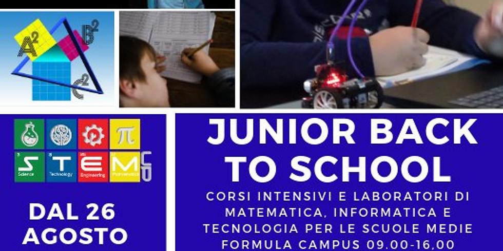 JUNIOR BACK TO SCHOOL