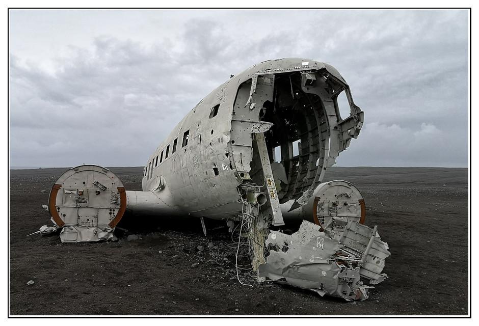 Flugzeugwrack von Sólheimasandur