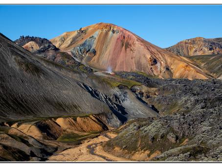 Landmannalaugar - die farbenfrohen Berge Islands