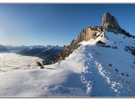 Jahresbeginn im Alpstein - Staubern