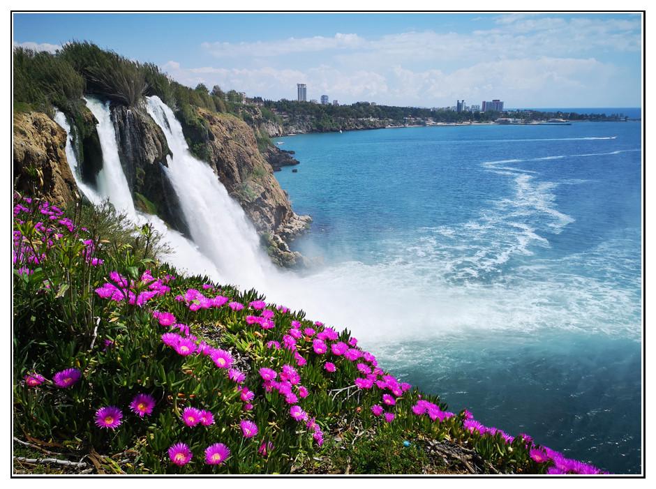 Düden Wasserfall in Antalya