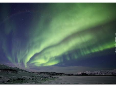 24 Stunden für ein Polarlicht