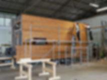 building a tinyhouse facade