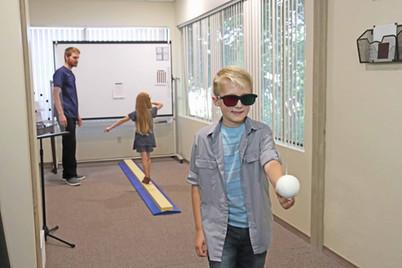 vision therapy vestibular loading