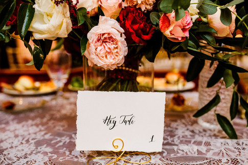 Song Table Numbers
