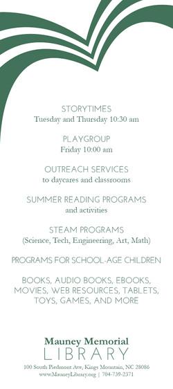 Children's Programs Rack Card4 2-13-182