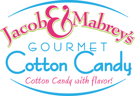 Jacob and Mabrey's Gourmet Cotton Candy logo