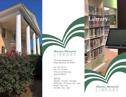 Meet Our Library Tri-fold 10-3-17