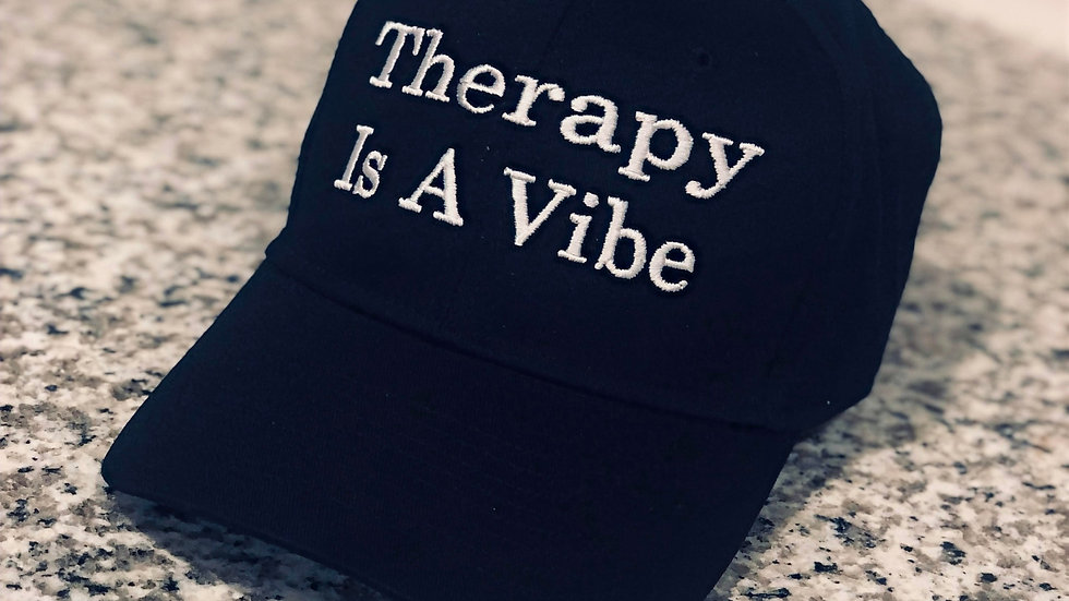 Therapy Is A Vibe™ Baseball Hat
