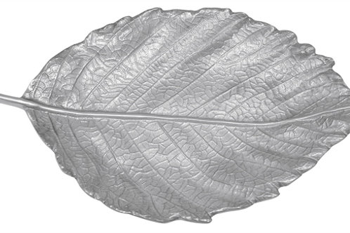 Mariposa Fall Medium Leaf Server