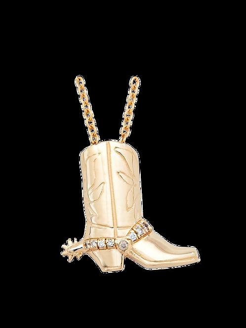 Cowboy Boot Gold