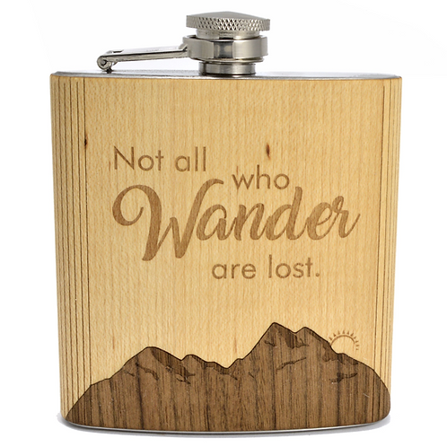 Flask | Not All Who Wander
