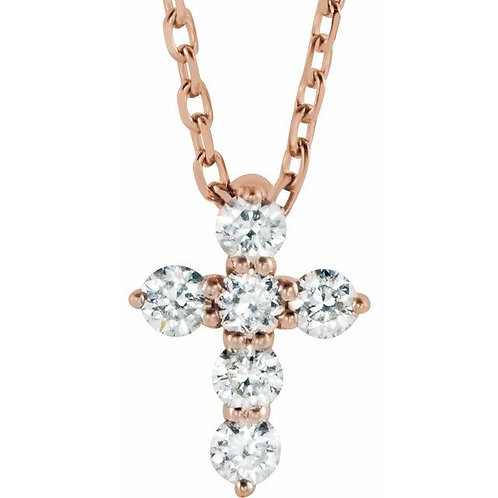 Diamond Petite Cross