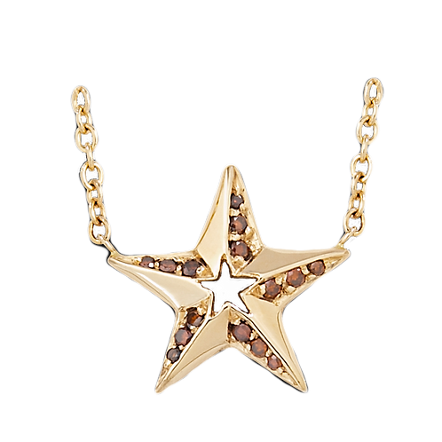 Gold Nautical Star