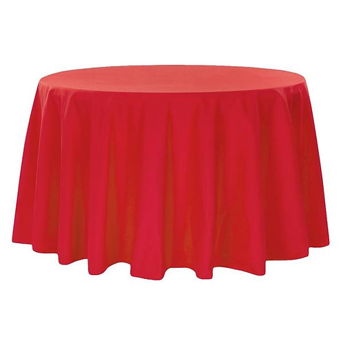 132 Red Polyester Linen