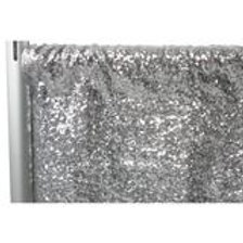 Silver Sequin Backdrop