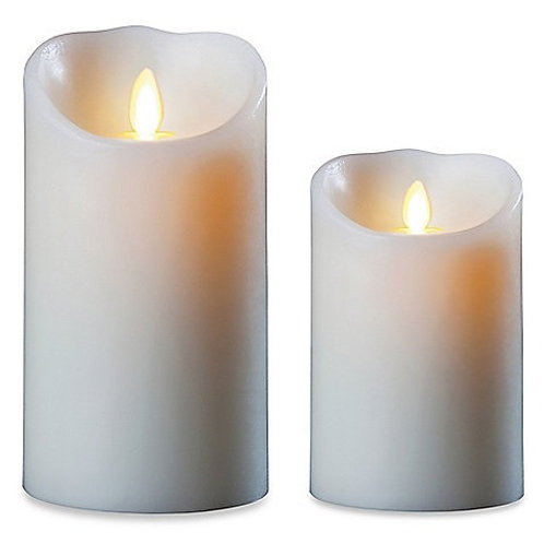 Real Flicker LED Taper Candles