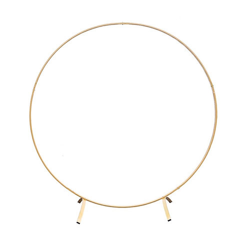 Gold Hoop Arch