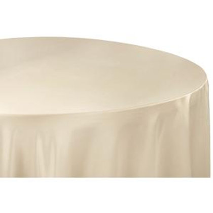 120 Champagne Lamour Satin Linen