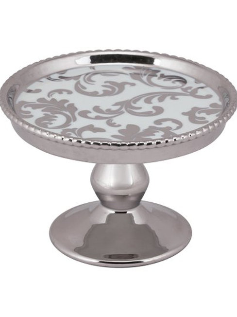 Silver Cupcake Stands